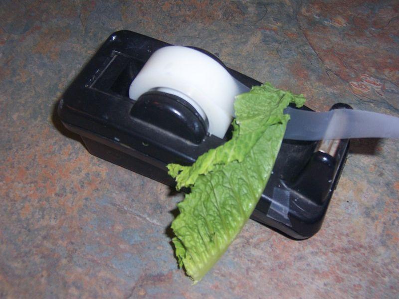 Tape lettuce